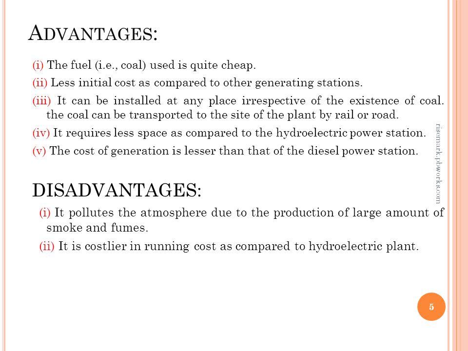 hydroelectric advantages and disadvantages pdf