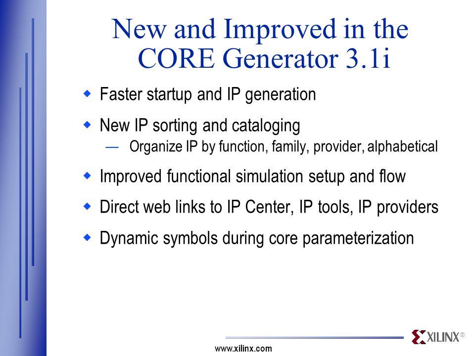 CORE Generator System V3.1i - ppt download