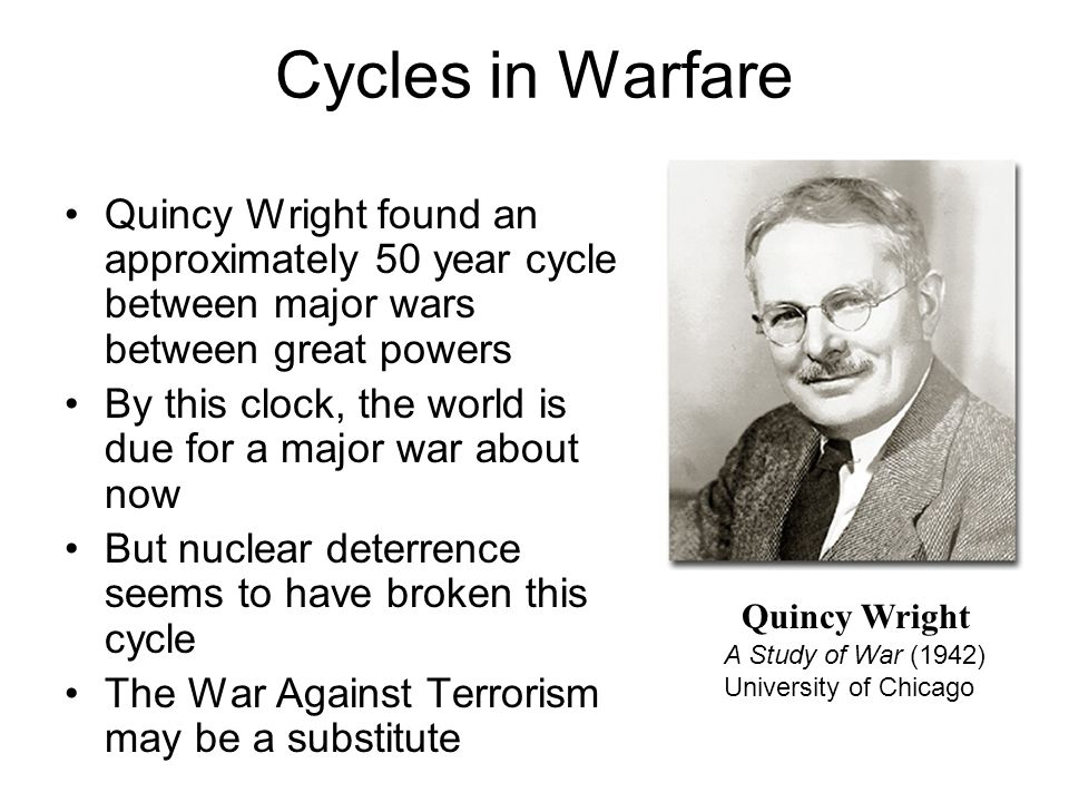 quincy wright a study of war