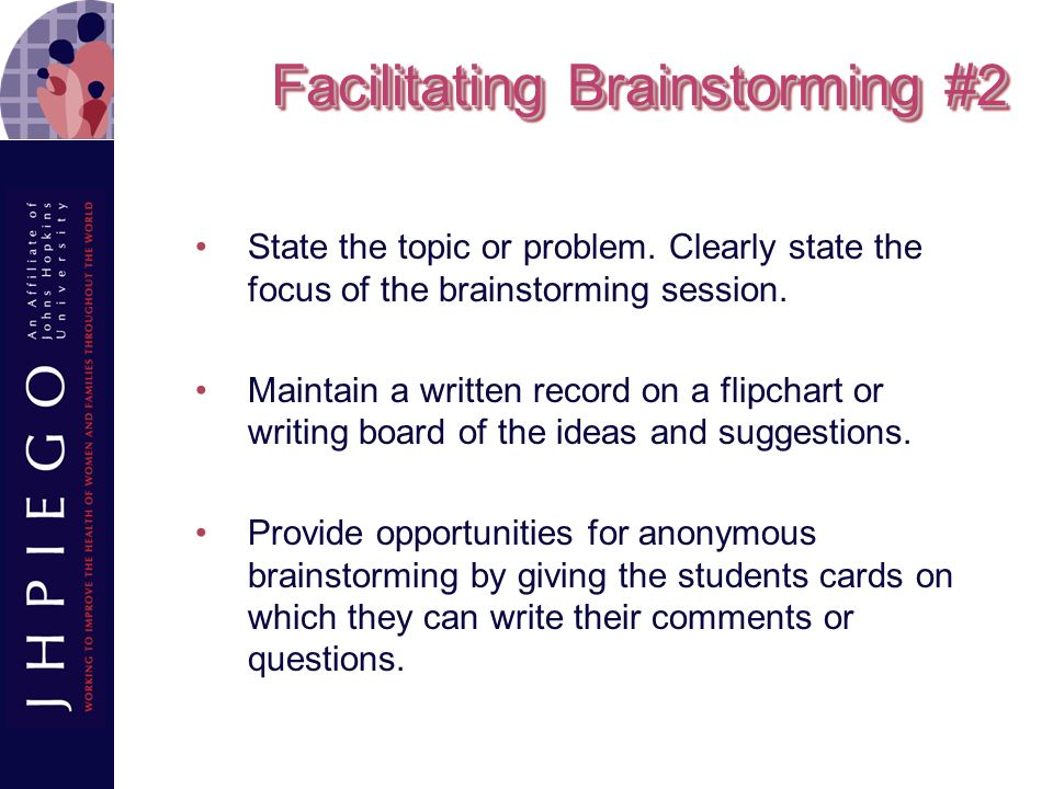 Facilitate Group Learning - ppt video online download