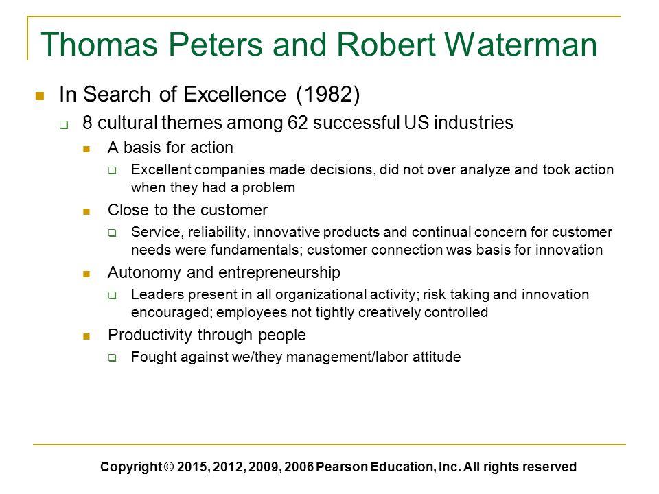 Fundamentals of organizational communication knowledge sensitivity thomas peters and robert waterman publicscrutiny Gallery