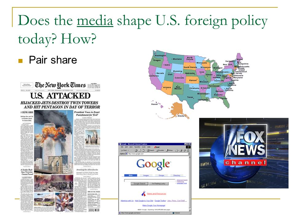how does the media impact foreign policy decisions