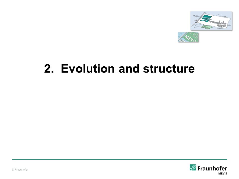 2. Evolution and structure