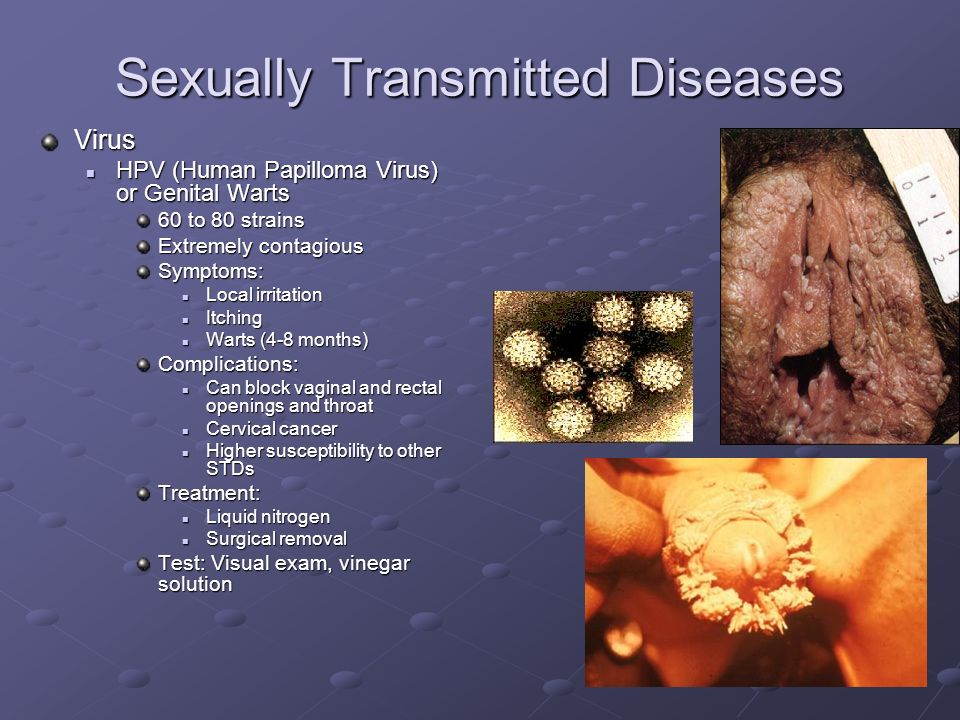 Sexually transmitted viruses