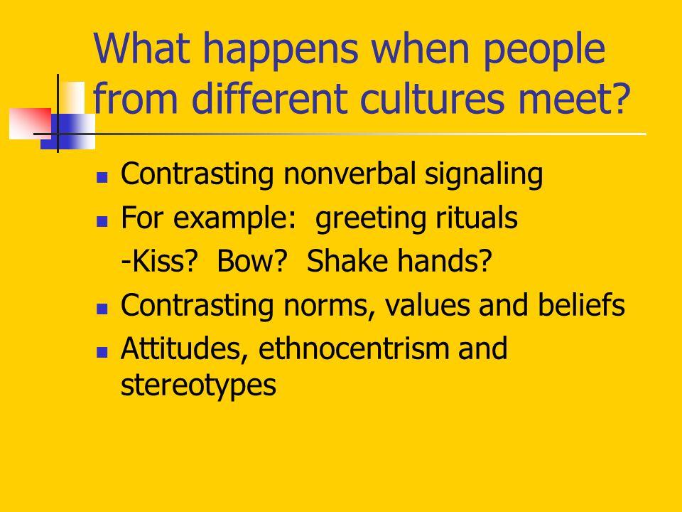 ethnocentrism examples