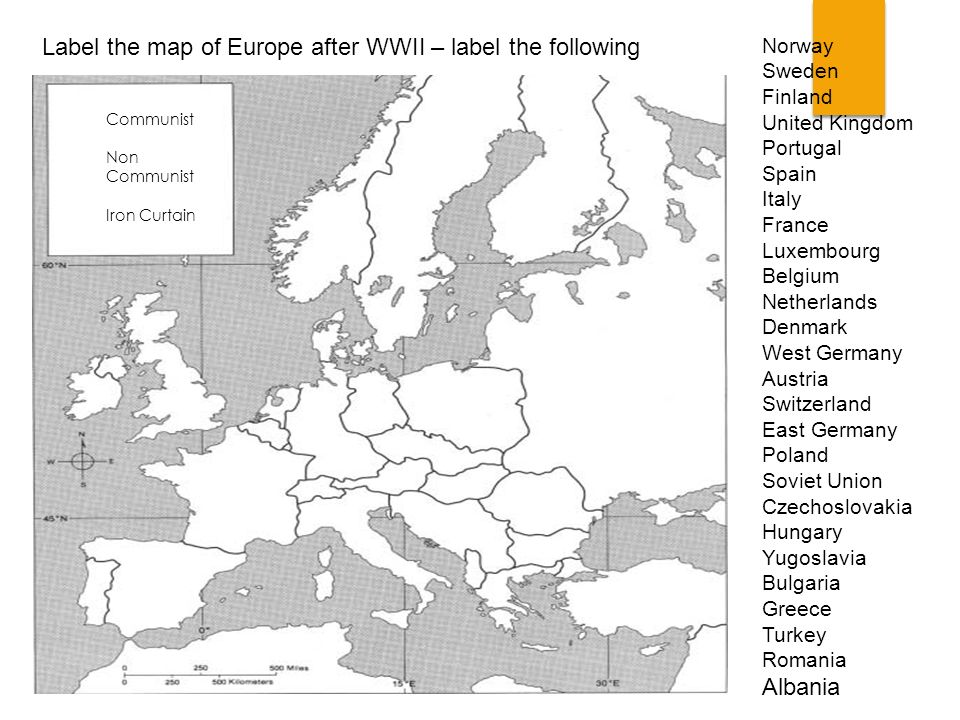Label The Map Of Europe After Wwii Following: The Soviet Union And Eastern Europe Worksheet Answers At Alzheimers-prions.com