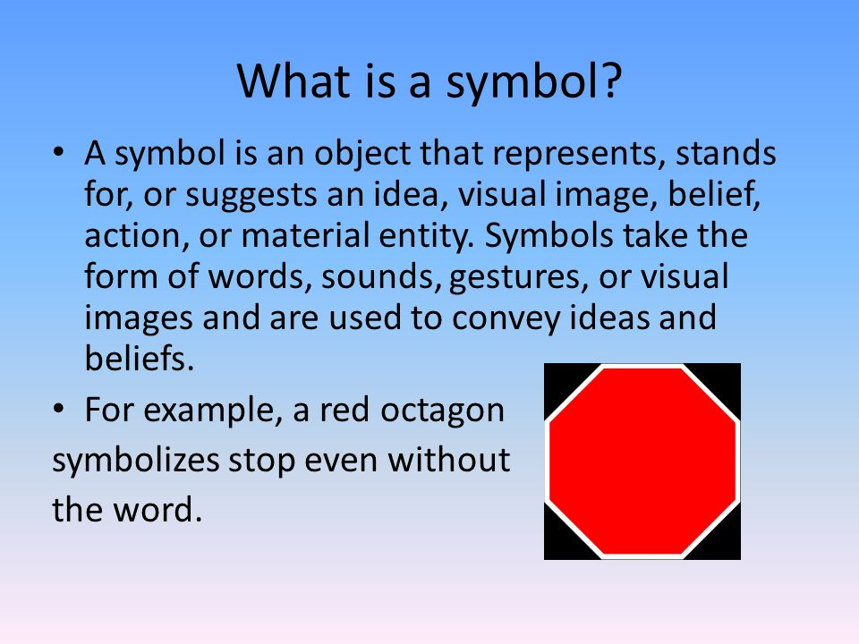 Symbolism A Review Ppt Download