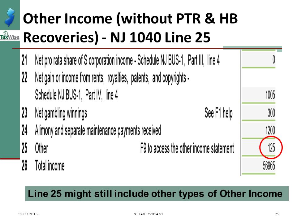 property tax rebates & recoveries ptr & homestead benefit - ppt