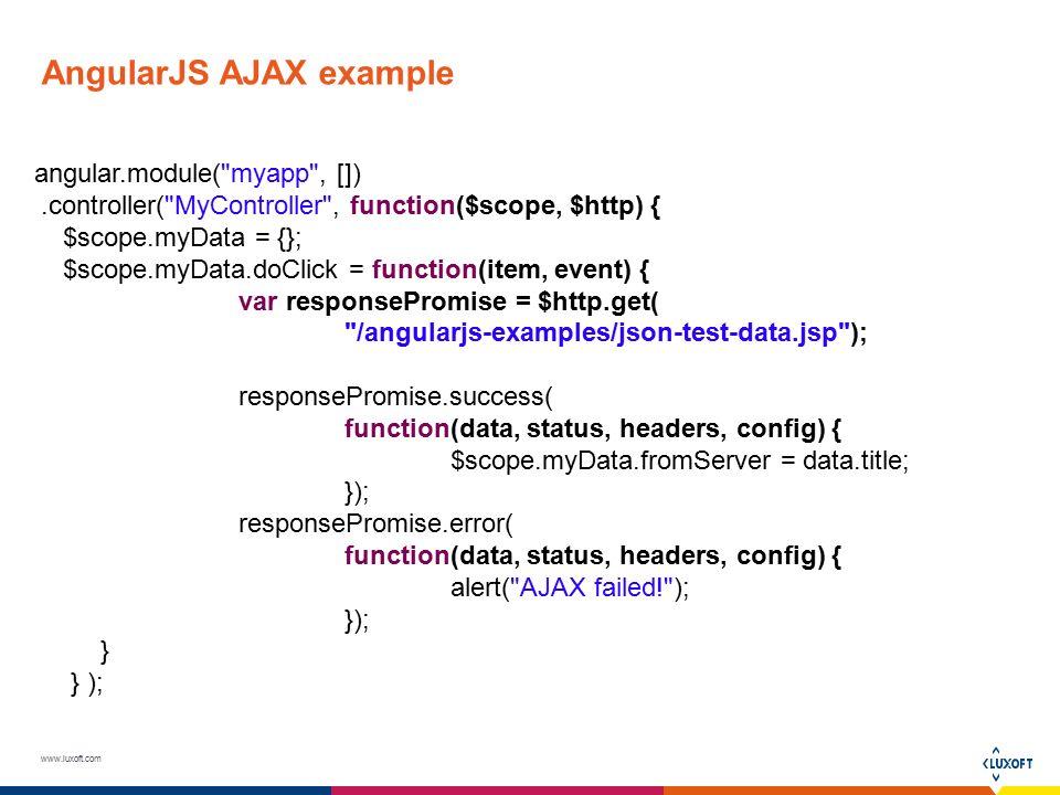 Angularjs Ajax Ppt Video Online Download