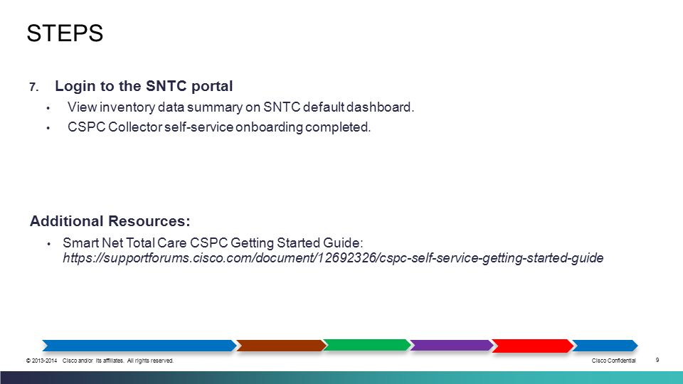 How to Deploy and Configure the Smart Net Total Care CSPC Collector