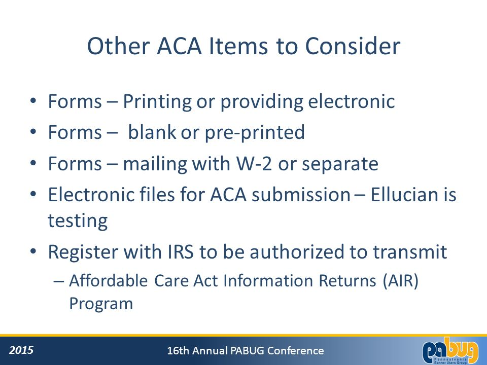 Affordable Care Act: Requirements, Tracking and Reporting