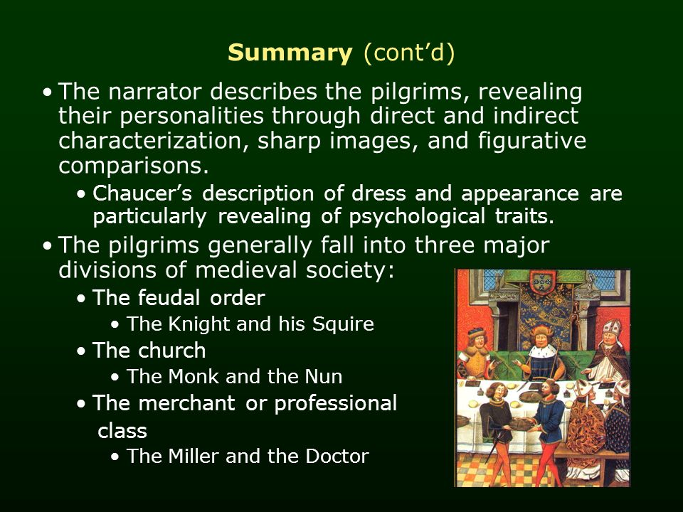the perceptions of marriage portrayed in the canterbury tales by geoffrey chaucer Chaucer's the canterbury tales demonstrate many different attitudes toward and perceptions of marriage some of these ideas are very traditional, such as that discussed in the franklin's tale, and others are more liberal such as the marriages portrayed in the miller's and the wife of bath's tales.
