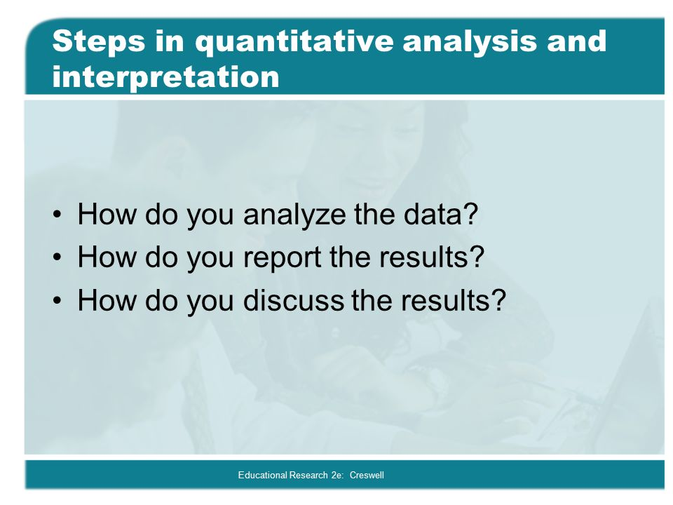 Analyzing and Interpreting Quantitative Data - ppt video online download