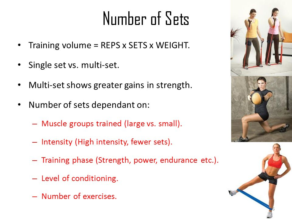 Designing Exercise Programs: *Layout *Muscle Groups