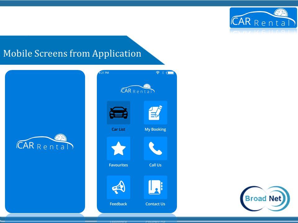 BroadNet Car Rental Mobile App Solution - ppt video online download