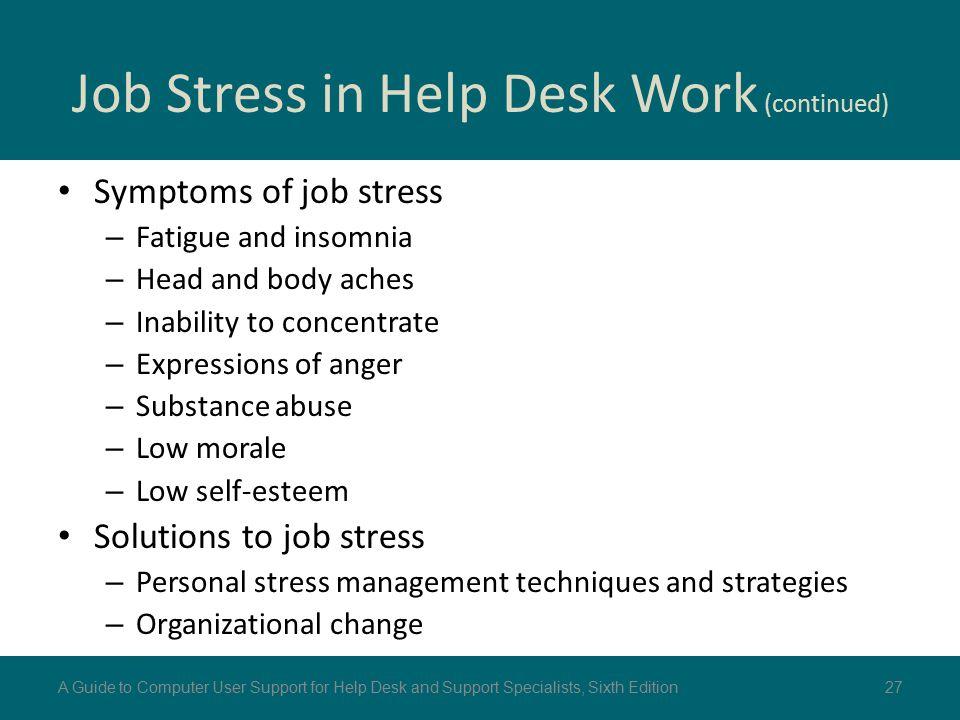Chapter 6 Help Desk Operation - ppt download
