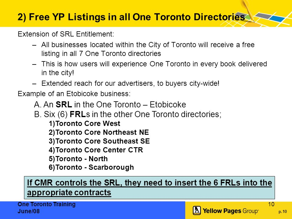 Introducing One Toronto - ppt download