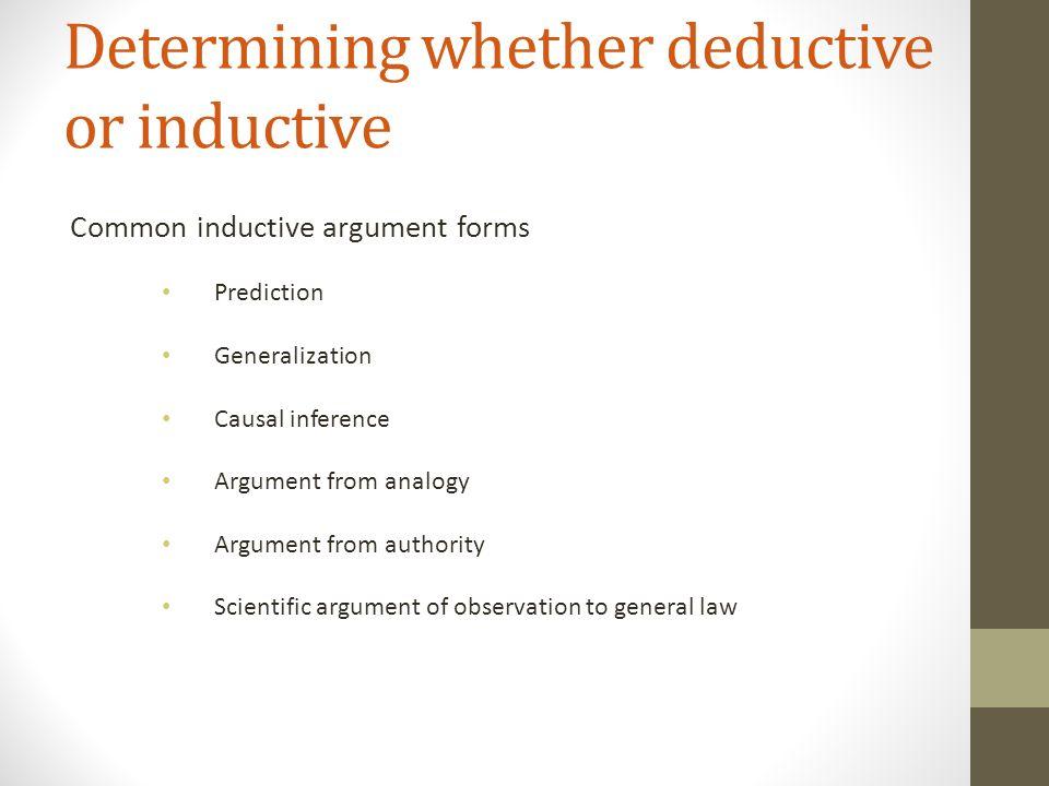 Deductive Vs Inductive Arguments Ppt Video Online Download