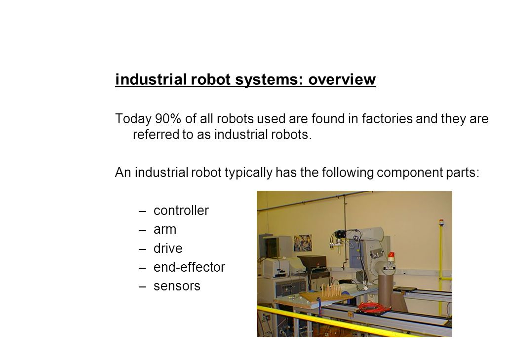 An Introduction to Robotics 1)  What is a robot  2) - ppt