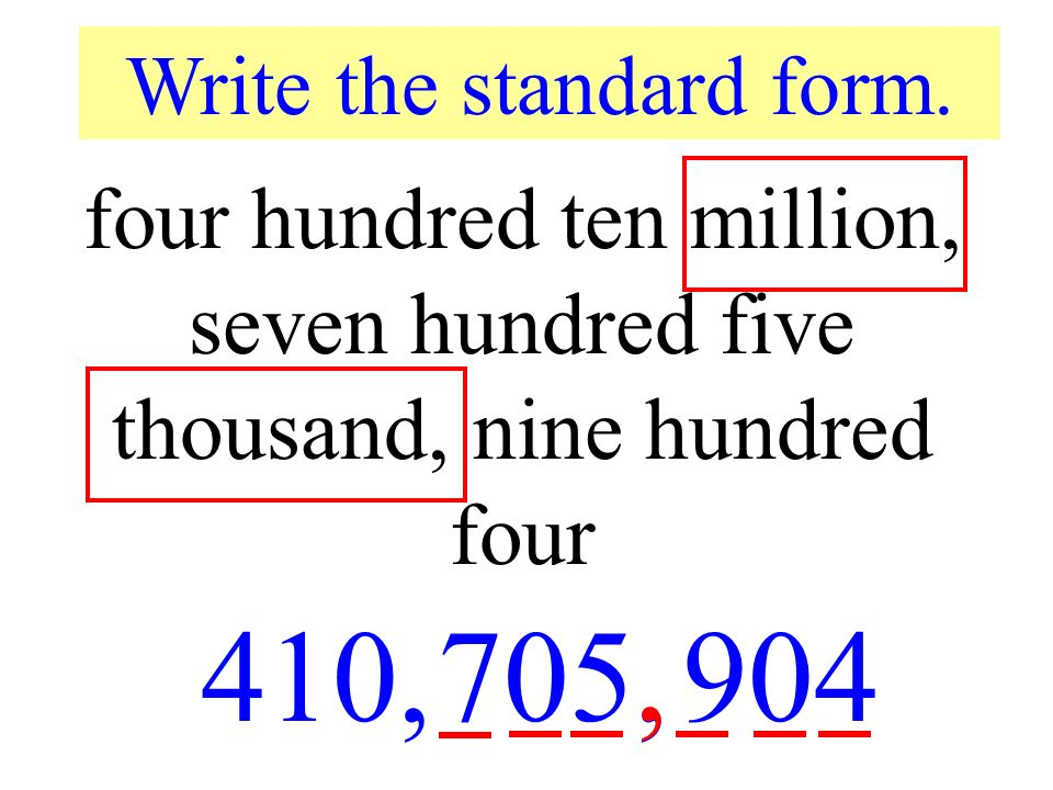 Place Value Through Millions Ppt Download
