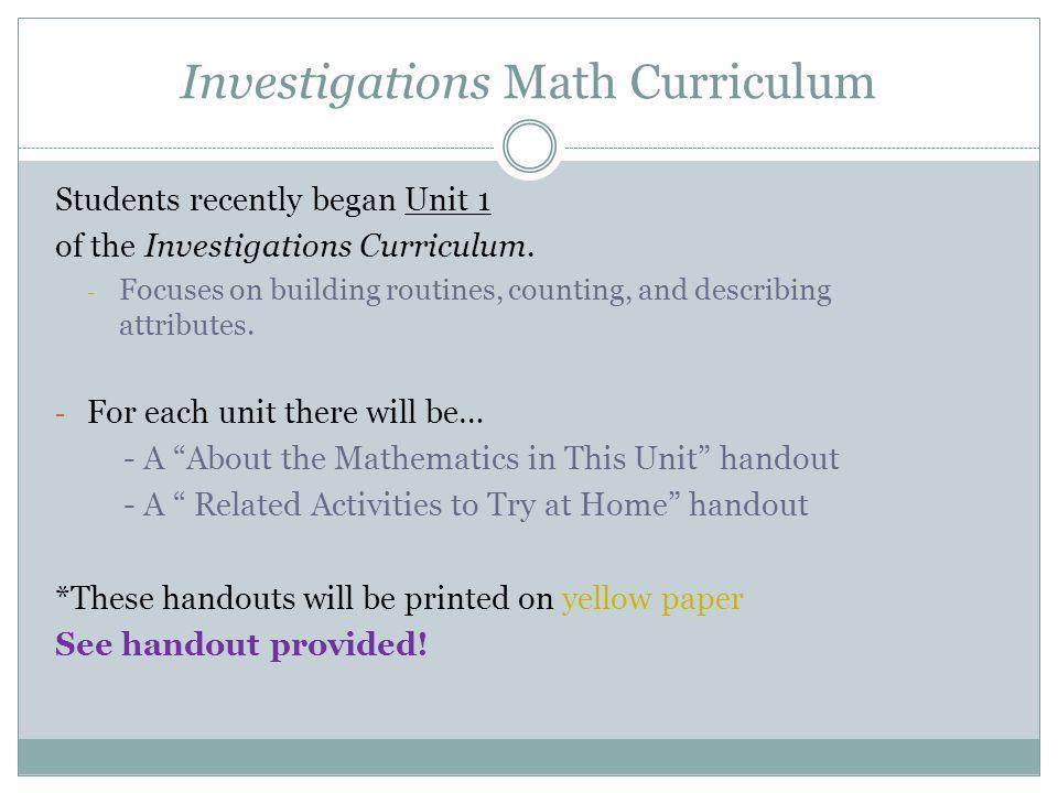 Welcome to Kindergarten Curriculum Night - ppt video online download