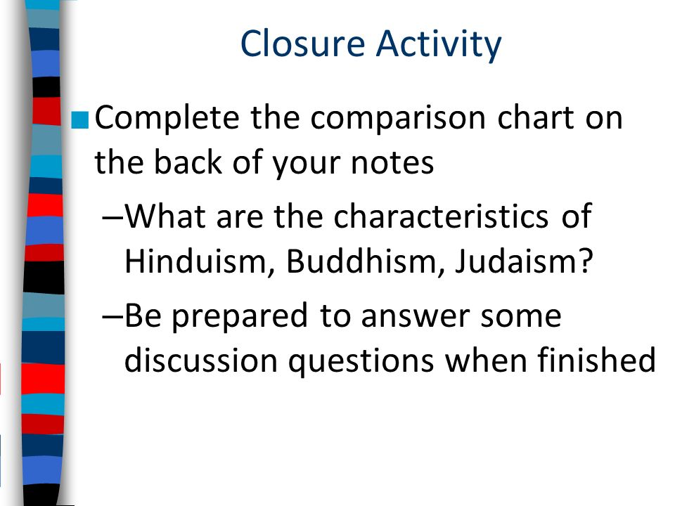 major differences between hinduism and buddhism
