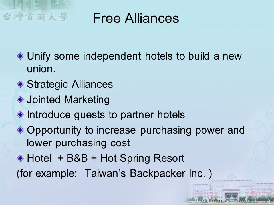 example of independent hotel