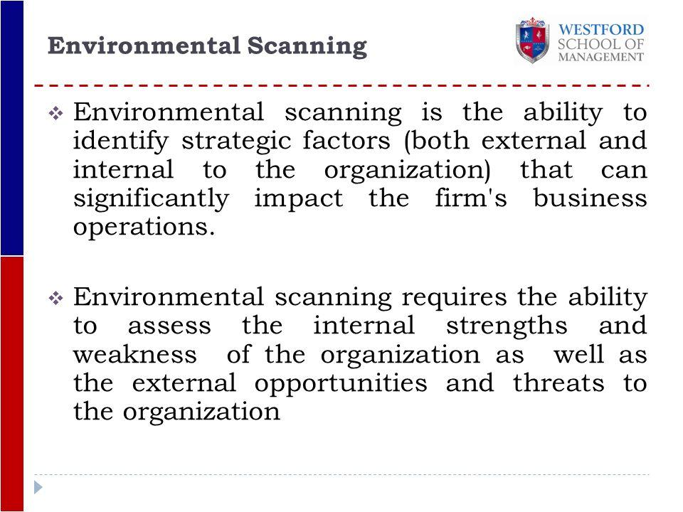 internal and external factors of management