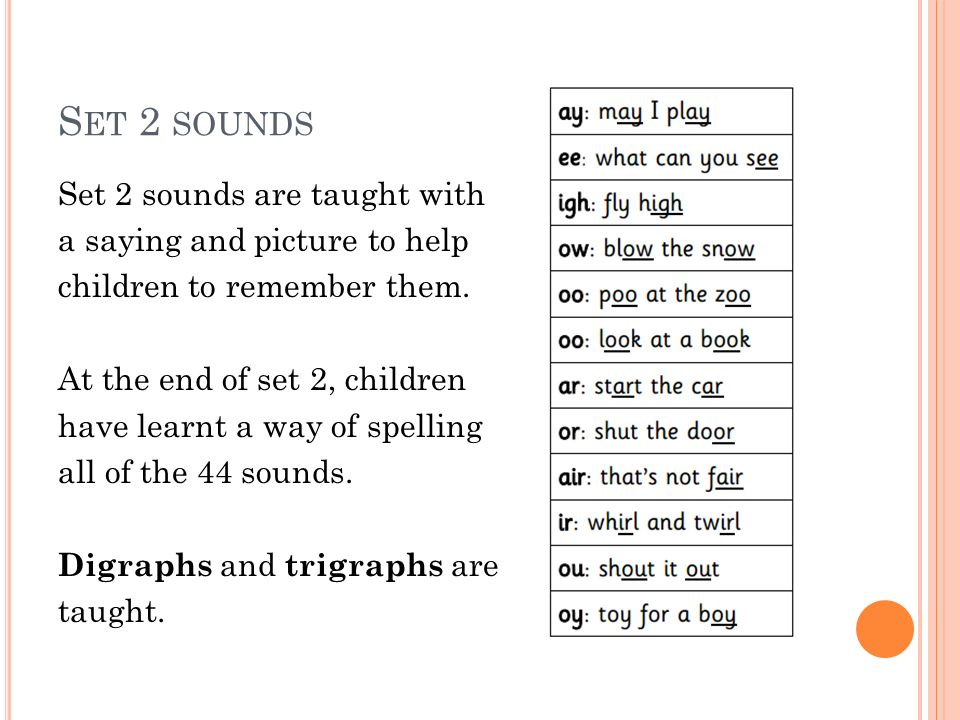 Read Write Inc Phonics In Key Stage One