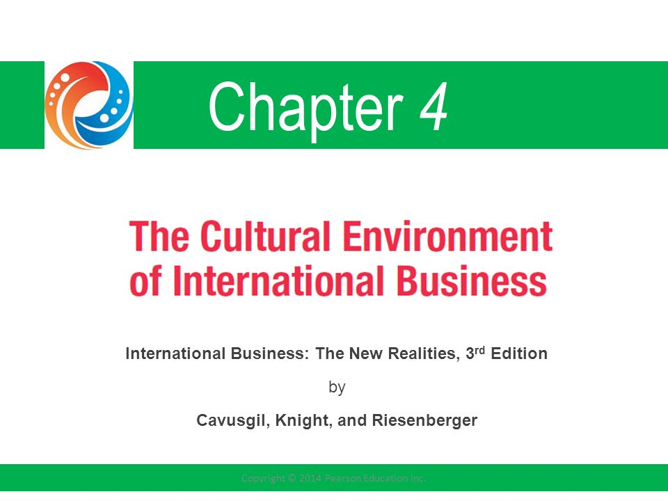 Chapter 4 International Business The New Realities 3rd