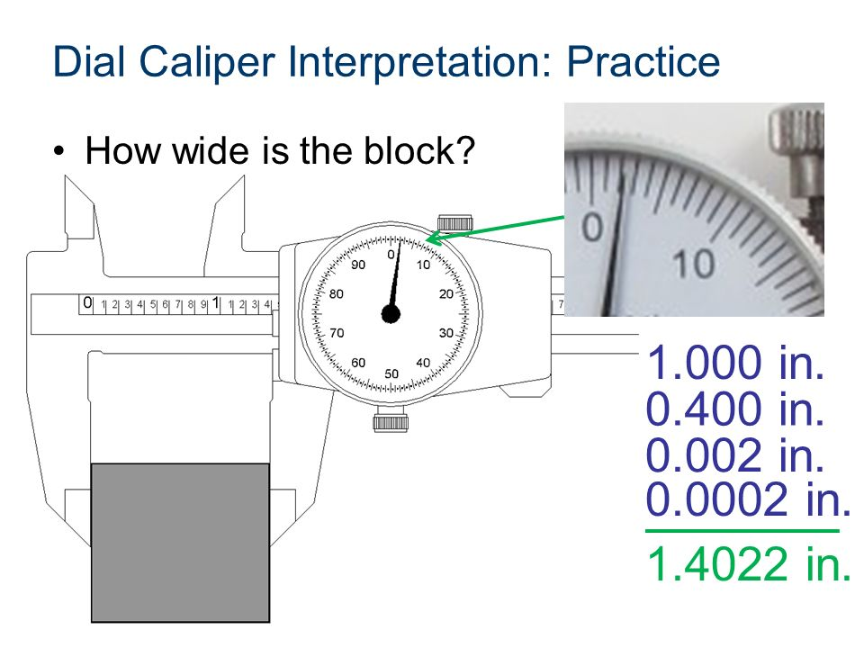 Dial Caliper Description And Use Ppt Video Online Download
