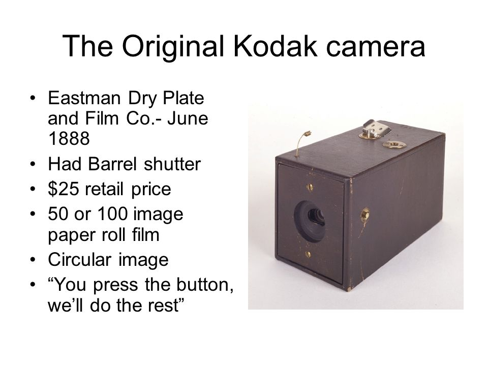 HISTORY OF PHOTOGRAPHY - ppt video online download