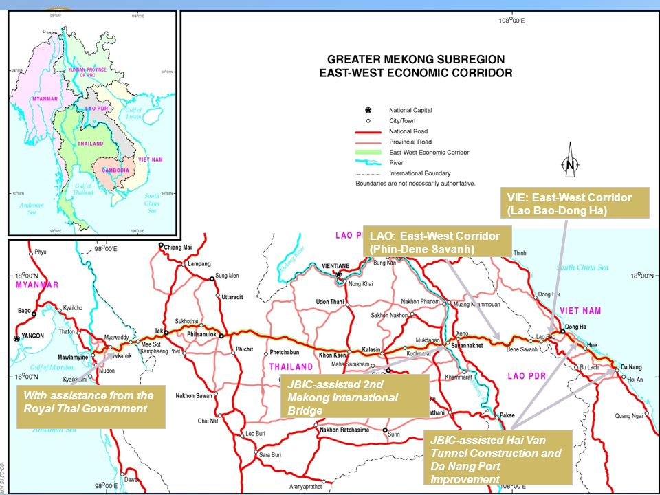 "GMS- EAST WEST CORRIDOR ""CHALLENGE AND OBSTRACLE"" - ppt"