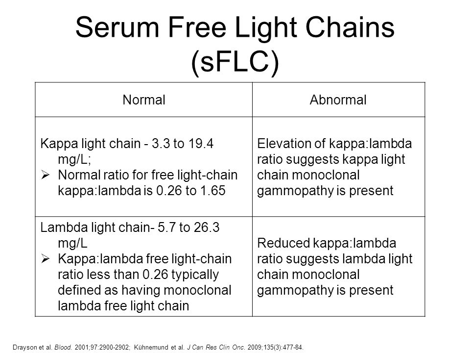 13 Serum Free Light Chains. Updates In Nursing Management Of Multiple  Myeloma Ppt