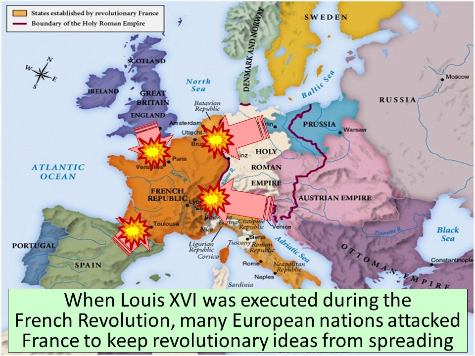 Map Of France During The French Revolution.Notes Napoleon The Congress Of Vienna Ppt Video Online Download