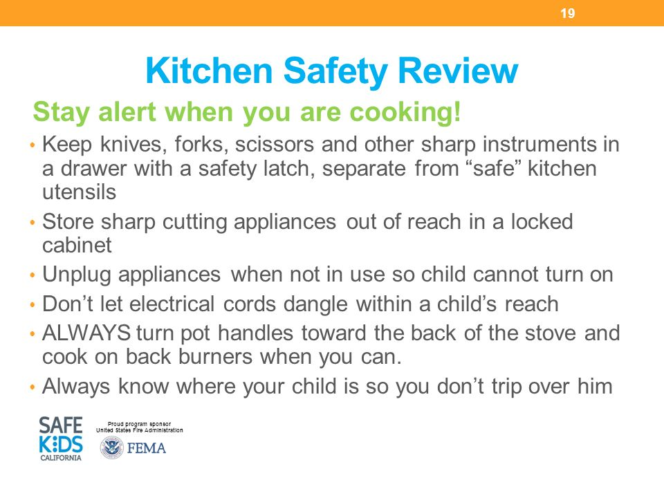 Smart Parents Safe Kids Cooking Safety Ppt Video Online