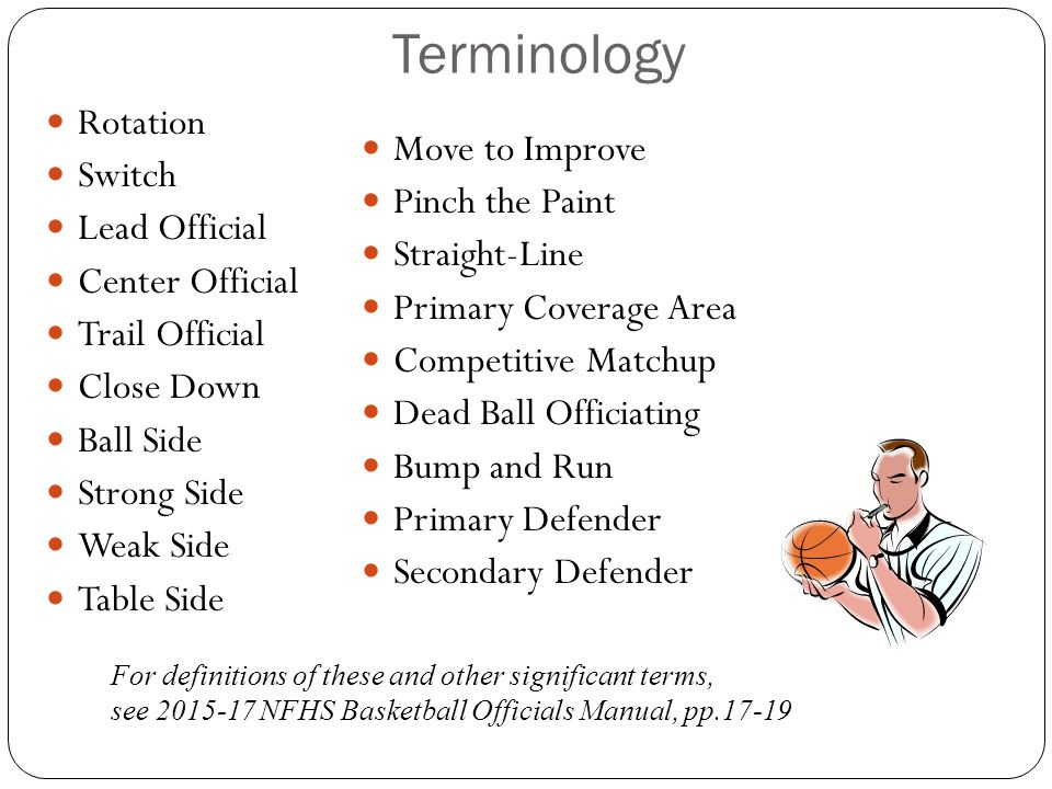 3-Person Basketball Officiating Mechanics - ppt download