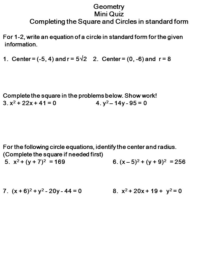 Warmup 8 17geom Add Or Subtract Each Set Of Polynomials Ppt