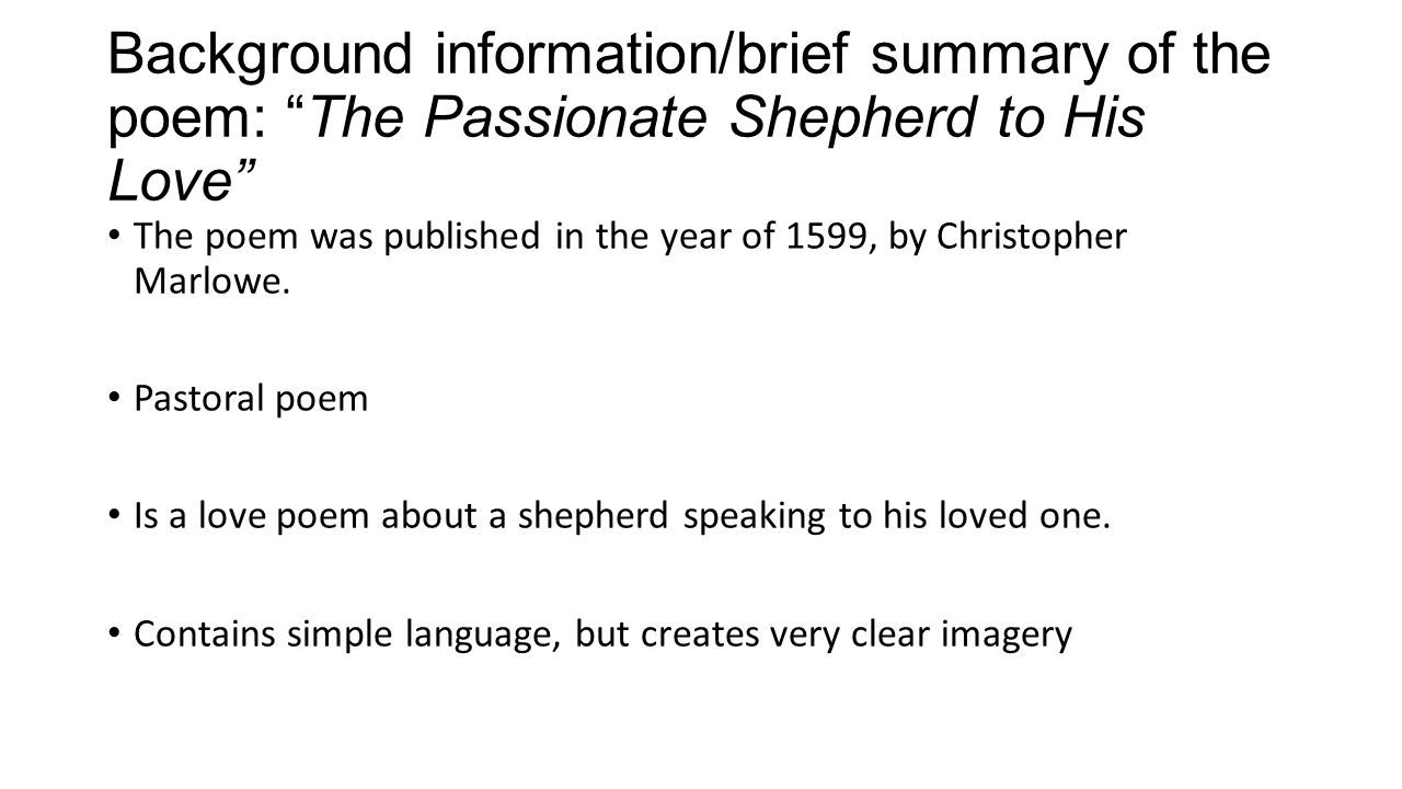summary of the poem vocation Excerpt from let your life speak listening for the voice of vocation by parker j palmer published: jossey-bass inc, 2000 chapter ii, now i become myself, pg 9-22 next  (pg 22-36.