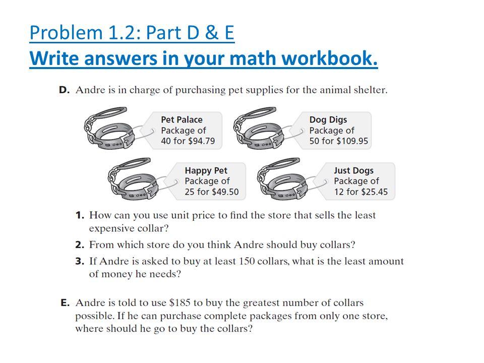 6th Grade Math Focus 1: Ratios, Rates & Proportions - ppt video