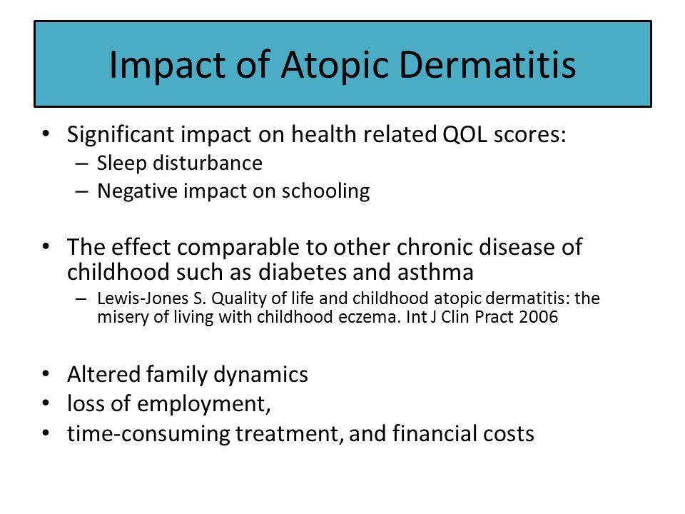 Paediatric Dermatology: Atopic dermatitis - ppt video online download