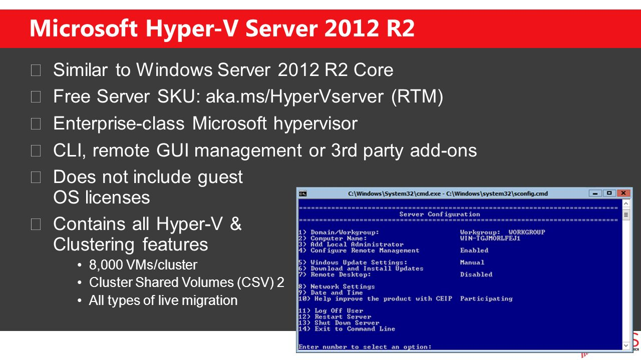 Hyper-V High-Availability - ppt download