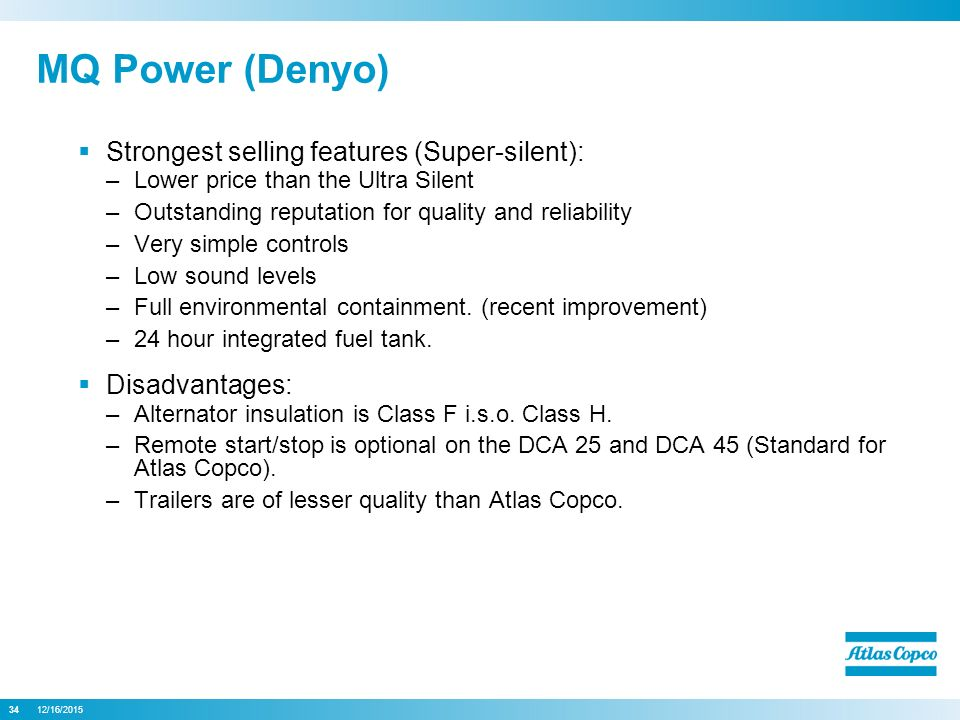 Jim Siffring, Product Manager – Generators - ppt download
