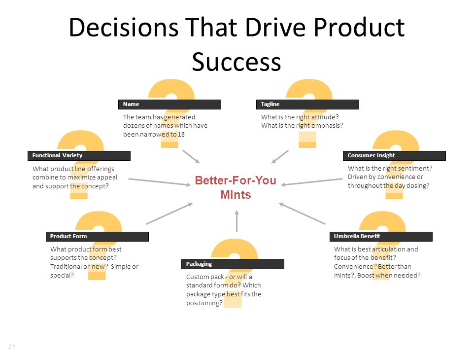Decisions That Drive Product Success