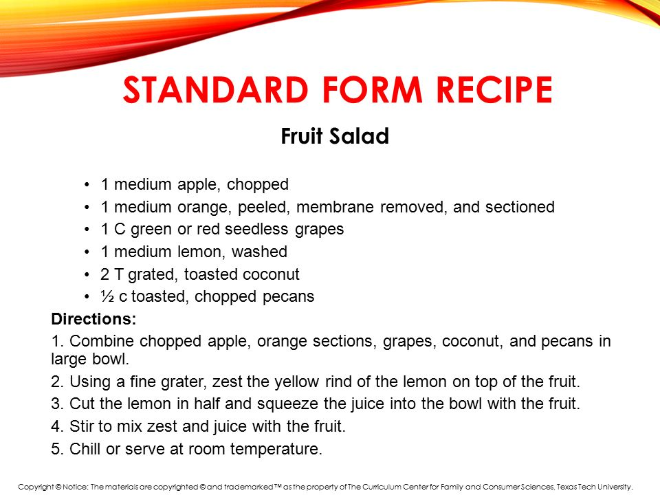 Warm Up Whats Wrong With This Recipe Ppt Download