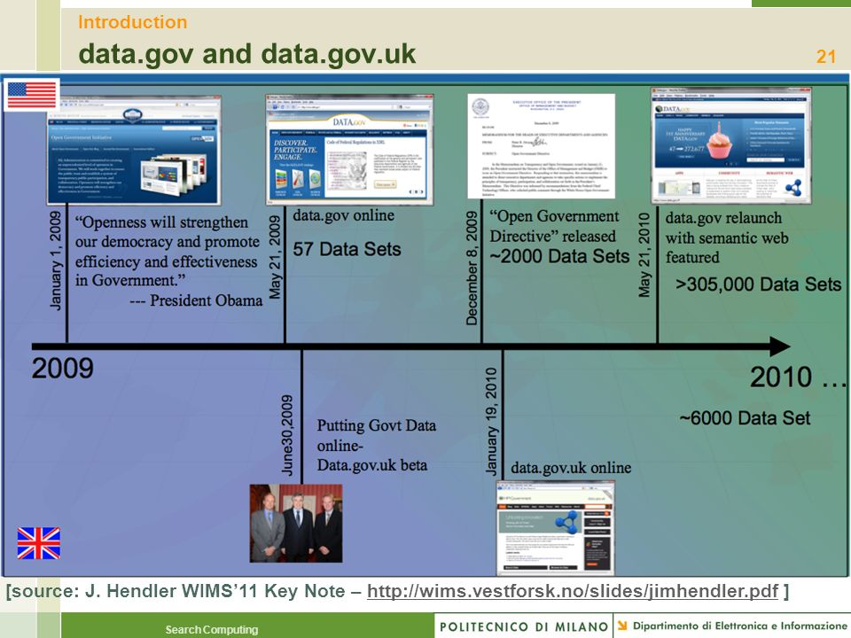 Introduction data.gov and data.gov.uk
