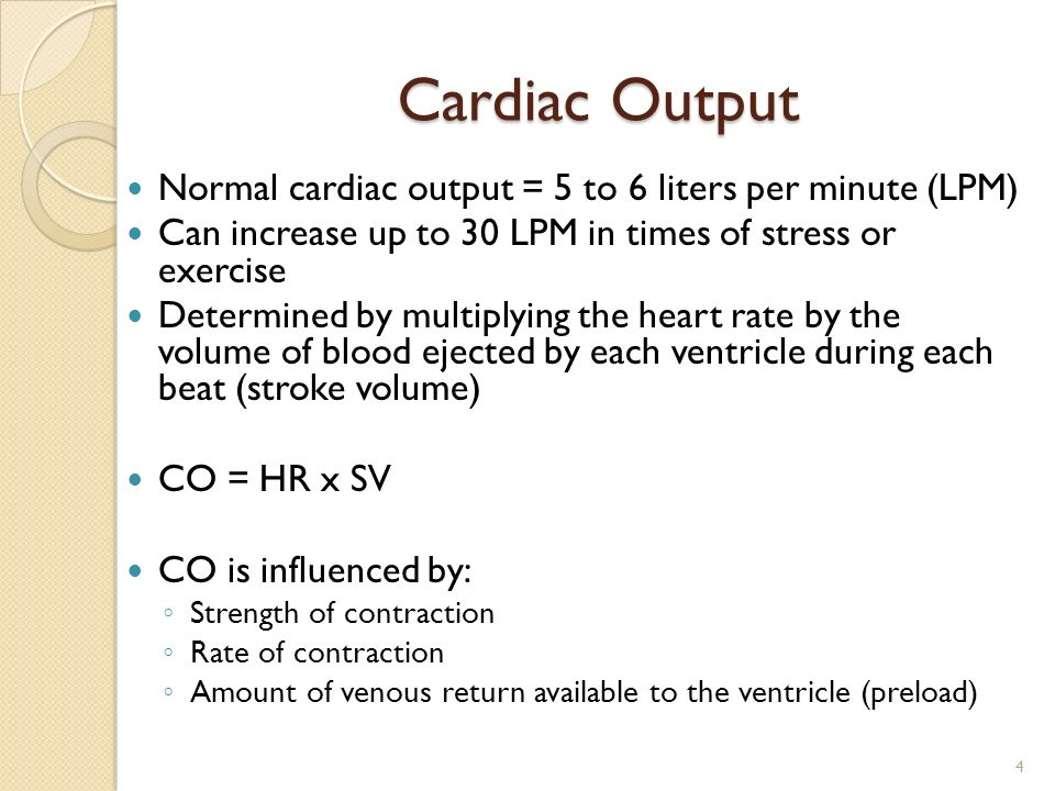 Cardiac output and venous return ppt video online download.