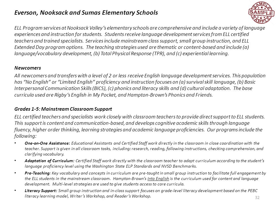 Transitional Bilingual Instructional Program And Title Iii