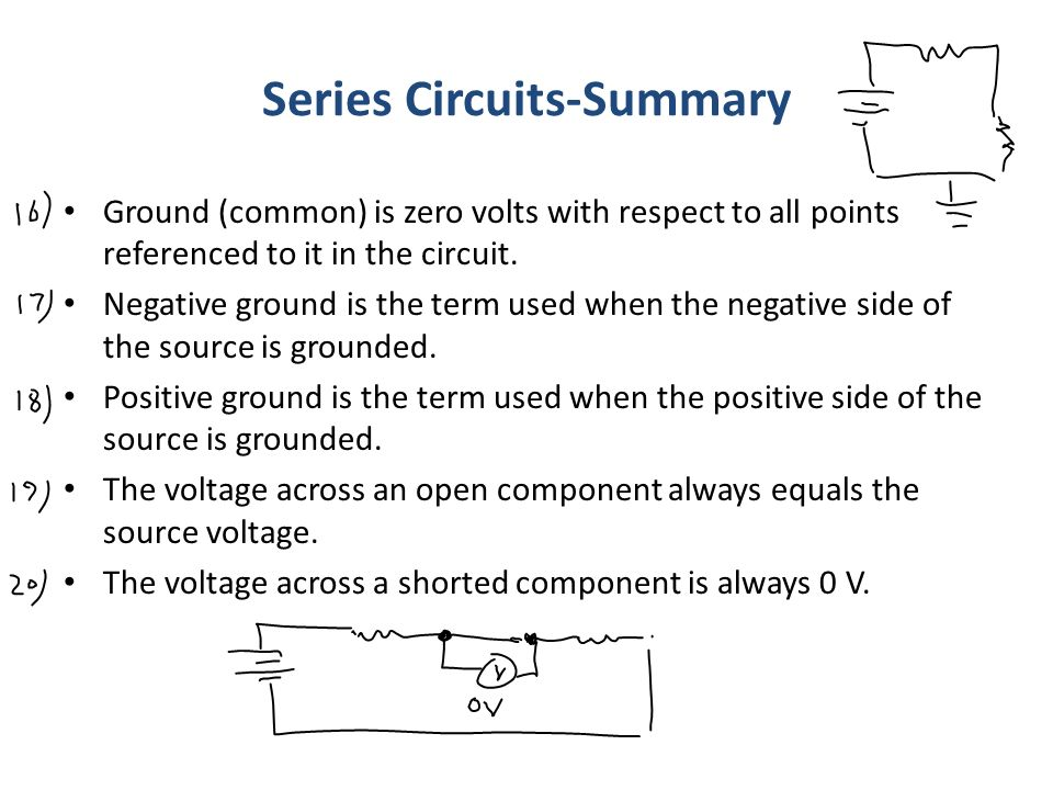 previous lecture 7 (problems solving) ppt video online download14 series circuits summary