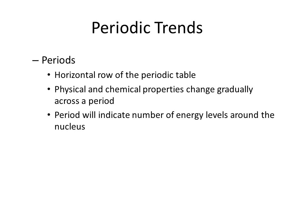 Periodic trends periodic table is arranged by atomic number groups 3 periodic urtaz Gallery